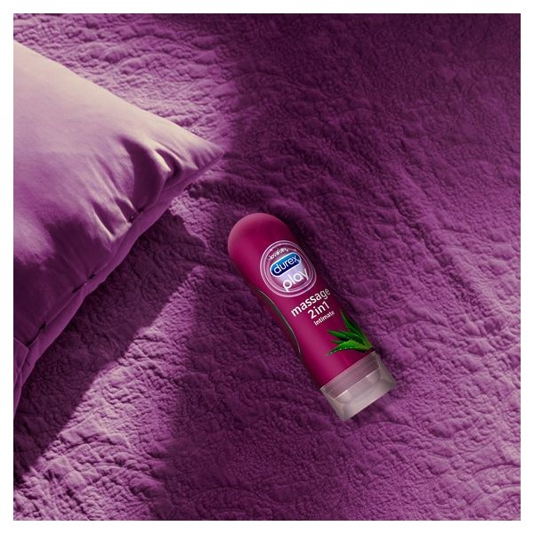 Play Massage 2u1 aloe vera lubrikant i gel za masažu 200ml - 2