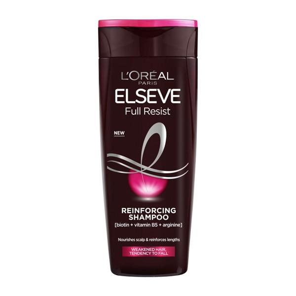 L'Oreal Paris Elvive Full Resist Reinforcing Fragile Hair Shampoo 200ml