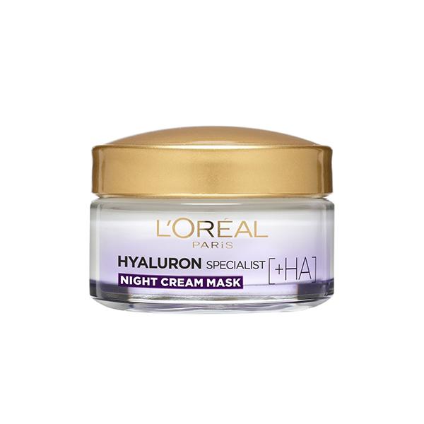 L'Oréal Hyaluron Specialist [+HA] noćna hidratantna krema za vraćanje volumena kože lica 50ml