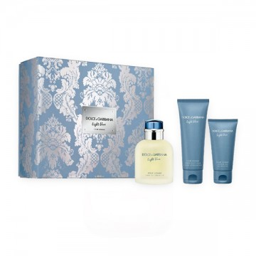 Dolce & Gabbana Light Blue Pour Homme set