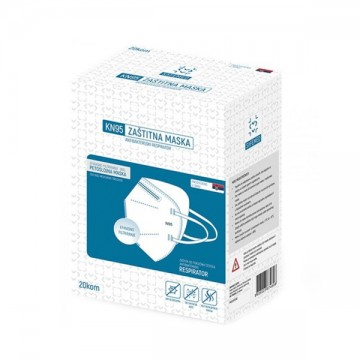 Maska zaštitna KN95 petoslojna