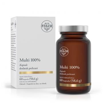M.E.V. Feller Multi 100% 60 kapsula