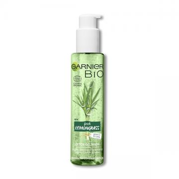 Garnier Bio Lemongrass detox gel za čišćenje lica 150 ml