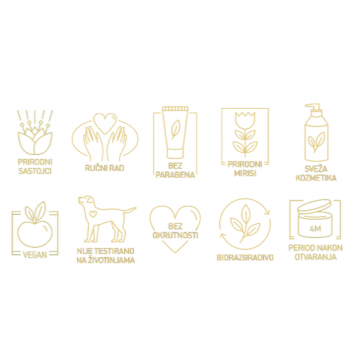 The Golden Goddess Krema za ruke i telo 100g