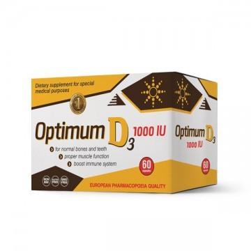 Optimum D3 kapsule 60x1000iu - 1