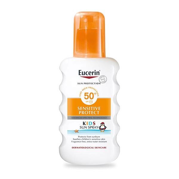 Eucerin Sprej za zaštitu osetljive dečje kože od sunca SPF 50+ 200ml
