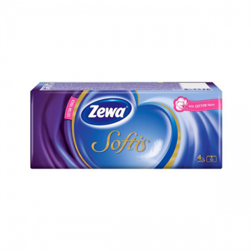 Zewa Softis Cotton Touch papirne maramice 10 komada
