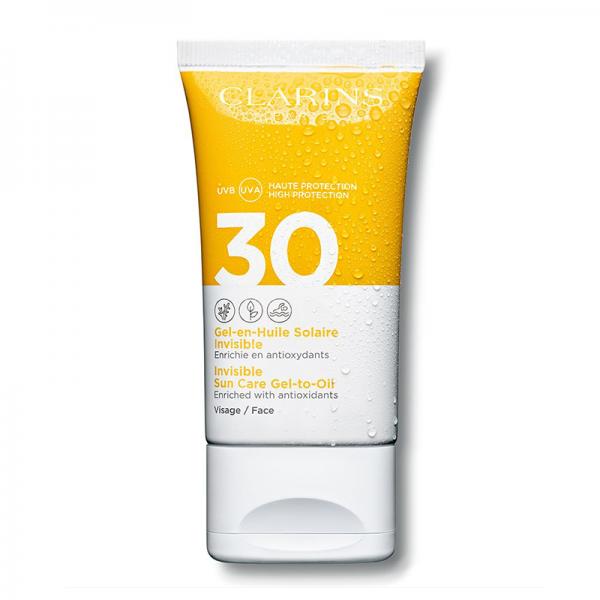 Clarins Sun Care SPF30 Dry Touch gel za lice UVA/UVB 50ml