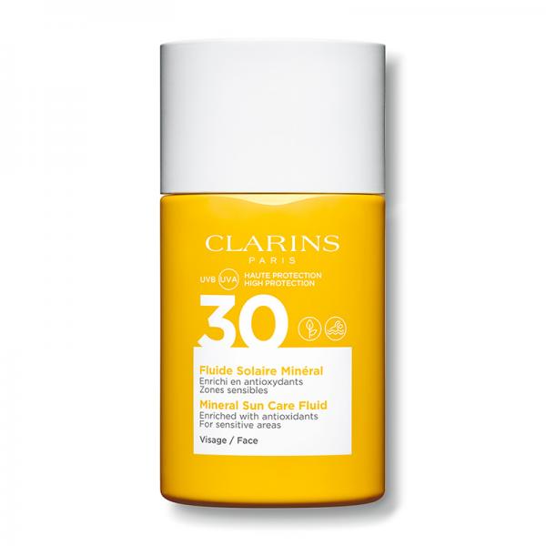 Clarins Sun Care SPF30 Mineral Fluid za lice UVA/UVB 30ml