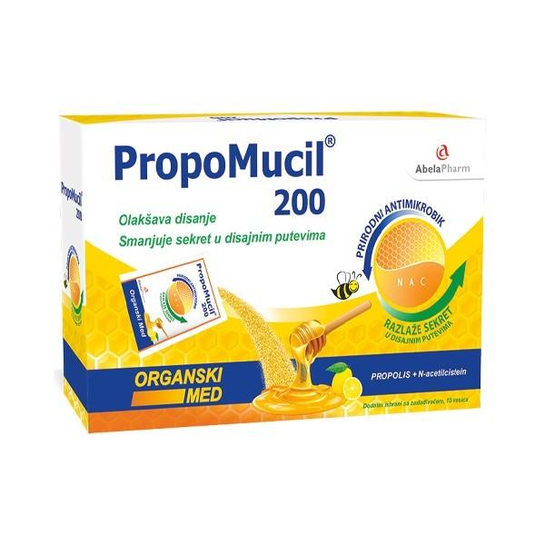 PropoMucil® 200 sa organskim medom 50 kesica