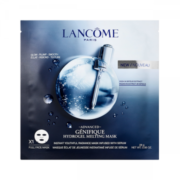 Lancôme Advanced Genifique Hydrogel Melting maska za lice 28g (4 komada)