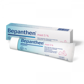 Bayer Bepanthen mast 5% 30g