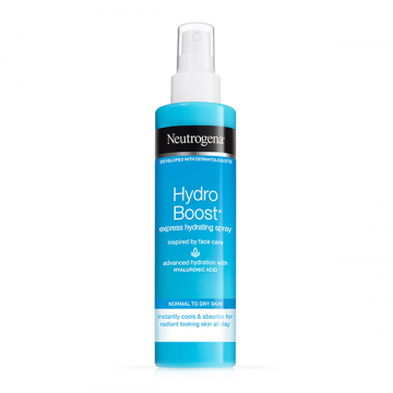 Neutrogena Hydro Boost Express Hydrating sprej za telo 200ml