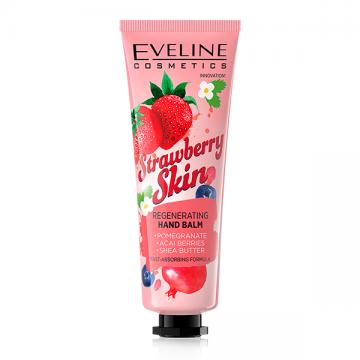Eveline Cosmetics Strawberry Skin regenerativna krema za ruke sa mirisom jagode 50ml