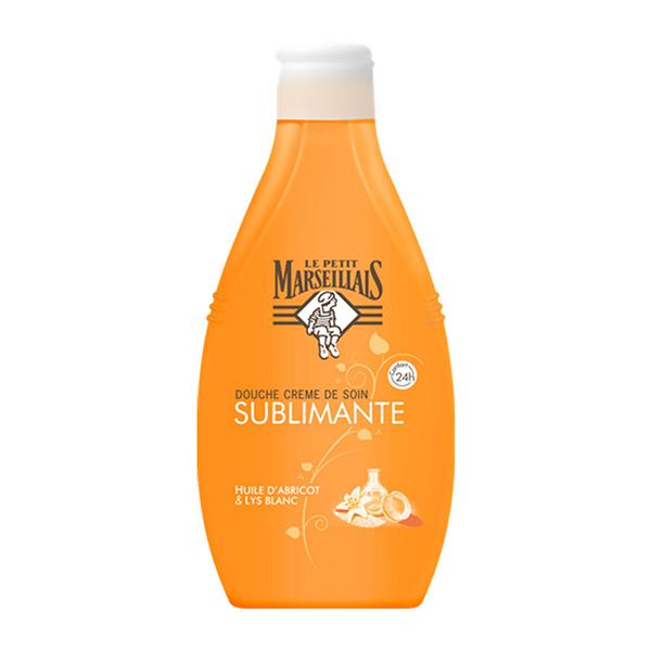 Le Petit Marseilials Sublimante Gel za tuširanje (ulje kajsije i beli ljiljan) 250ml
