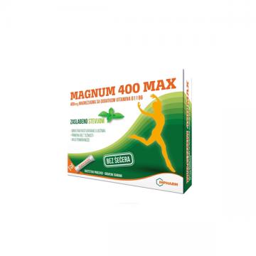 Magnum 400 Max kesice 20x2g