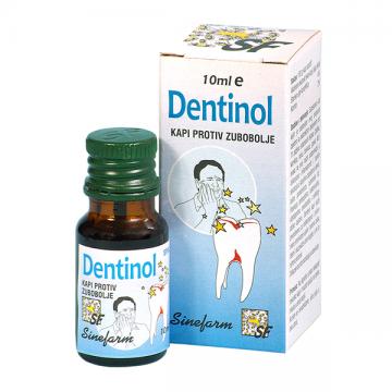Dentinol kapi protiv zubobolje 10ml