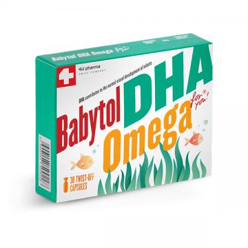 Babytol DHA Omega 30 kapsula