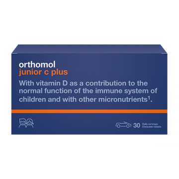 Orthomol Junior C plus 30 doza tableta